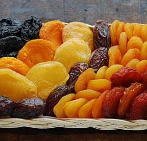 Food - dried fruit