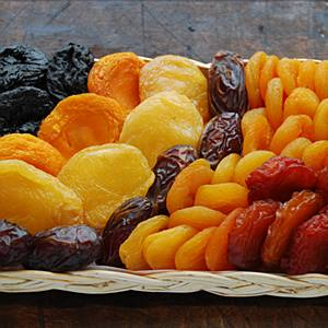 Food - dried fruit