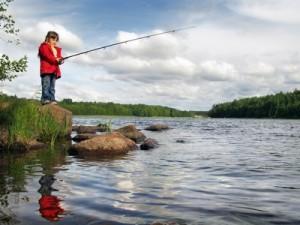 Physical Activity - Boy Fishing