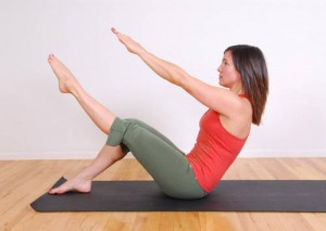 Physical activity   - pilates pose