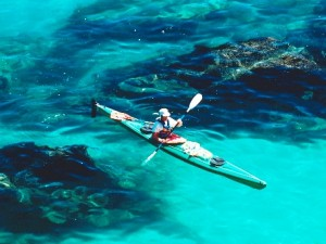 Physical activity   sea kayaking