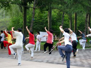 Physical activity  tai-chi-park