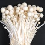 food - enoki mushroom