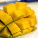 food - mango cut