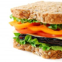 Food - healthy sandwich