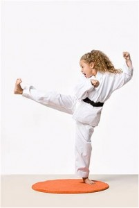 KIDD - Martial Arts Girl Kicking