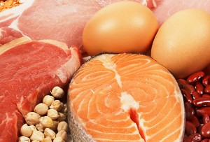 Nutrition -high protein food