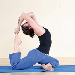 Physical Activity - yoga pose