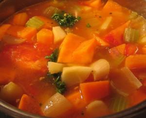 food - vegetable soup