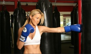 Physical Activity -  Woman Boxing