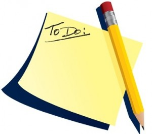 RFS - to do list