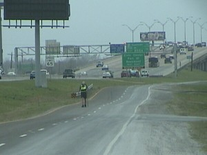 Mr D on frontage road