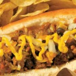 junk food - chili dog