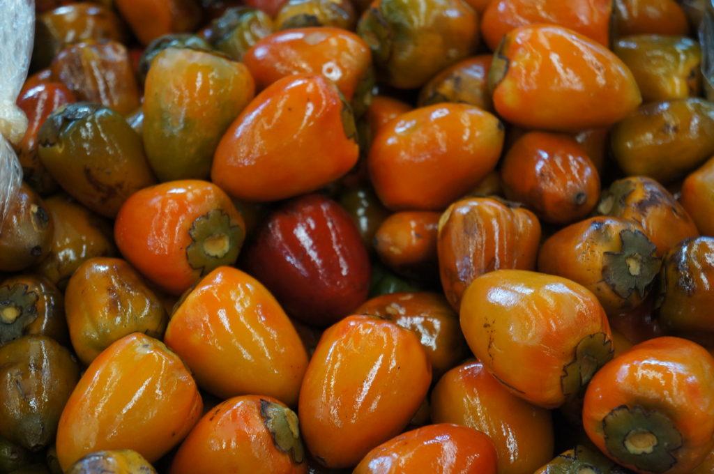 Extoic fruit Chontaduro Peach Palm Fruit