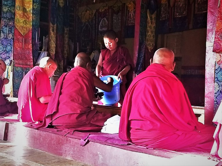 Monks and Mindful Eating