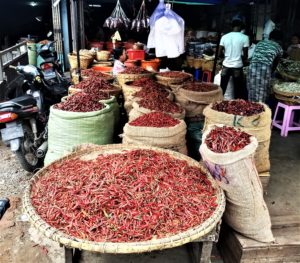 spice market in Indonesia