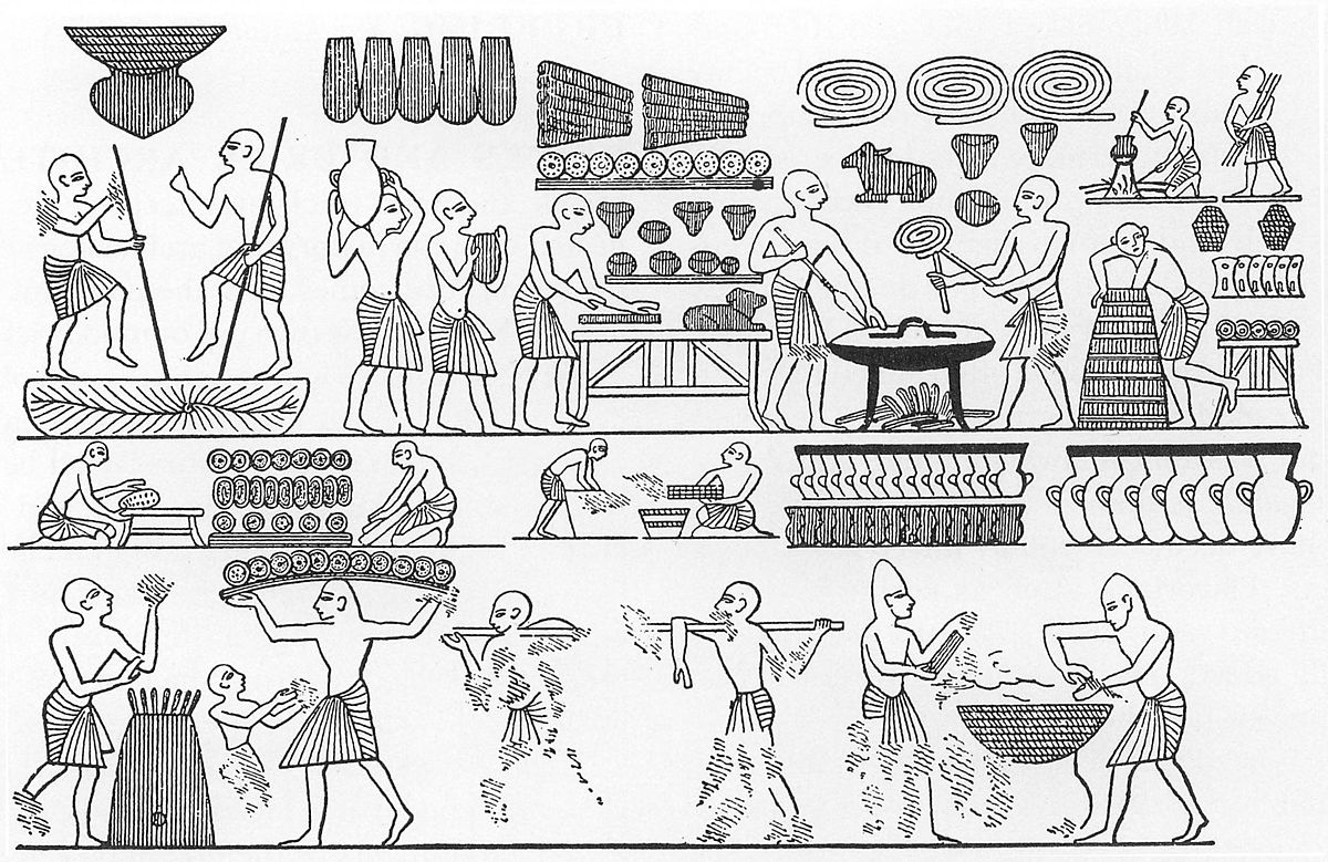 Ancient Egypt Bakery